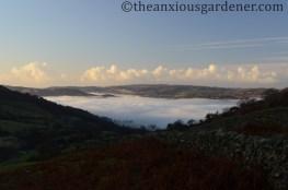Ambleside under mist