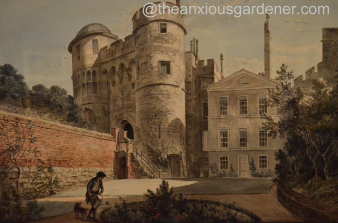 The Norman Gateway and Moat Garden, Windsor Castle Paul Sandby, c. 1770