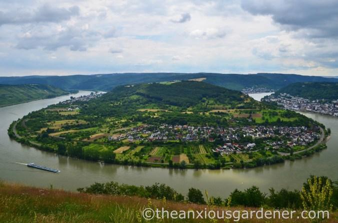Das GedeonsEck, hoch über der Rheinschleife