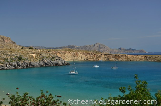 Pallas Beach, Lindos