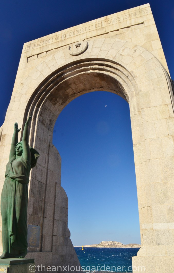 War Memorial on the Corniche Marseille